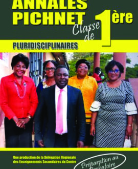 Annales Pichnet, Classe de 1ère
