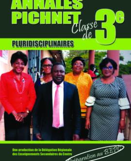 Annales Pichnet, classe de 3ème
