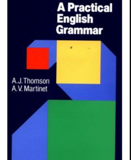 A pratical English Grammar, 4th edition