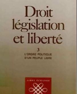 Droit de législation et liberté Vol. 3 : L'ordre politique d'un peuple libre