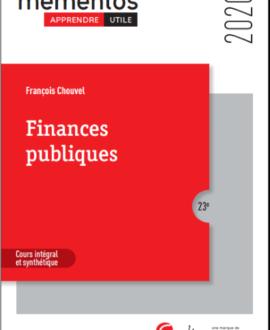 Finances publiques, 23e édition