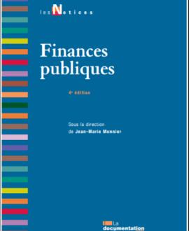 Finances publiques, 4e édition