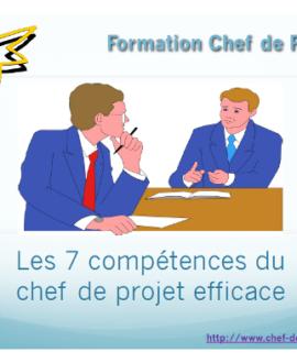 Formation Chef de Projet 6e édition : Les 7 compétences du chef de projet efficace