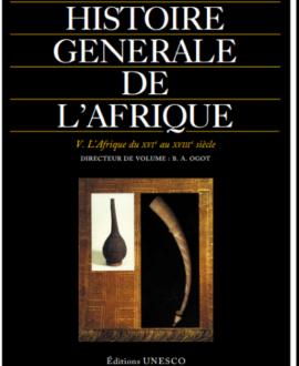 Histoire générale de l'Afrique V : L'Afrique du XVIe au XVIIIe siècle