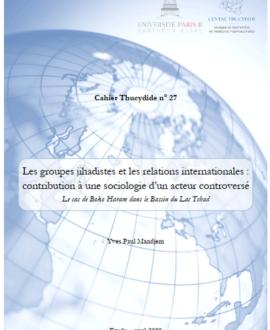 Les groupes jihadistes et les relations internationales : contribution à une sociologie d'un acteur controversé,  Le cas de Boko Haram dans le Bassin du Lac Tchad