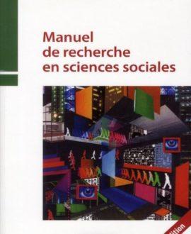 Manuel de recherche en sciences sociales  4e édition