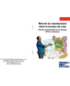 Manuel du représentant dans le bureau de vote : Election présidentielle du 07 Octobre 2018 au Cameroun