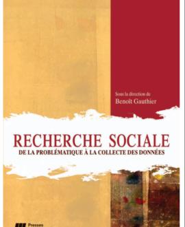 Recherche sociale de la problématique à la collecte des données