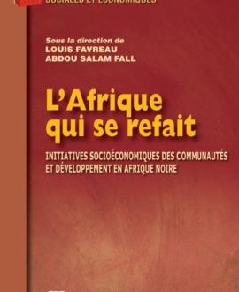 L'Afrique qui se refait : Initiatives socioéconomiques des communautés et développement en Afrique noire