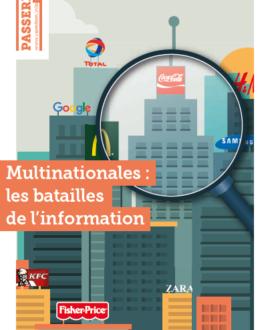 Multinationales : Les batailles de l'information