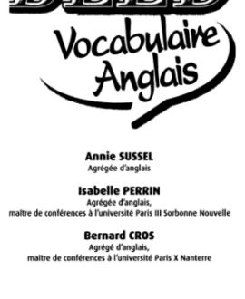 Bled : Vocabulaire Anglais