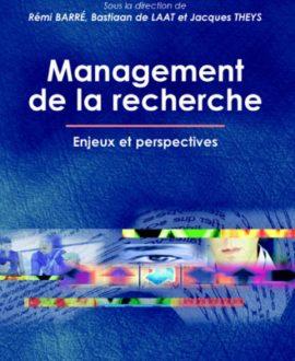 Management de la recherche : Enjeux et perspectives, 1ère édition