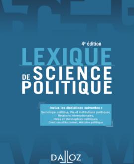 Lexique de science politique 4e édition
