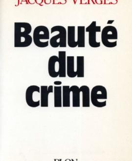 Beauté du crime