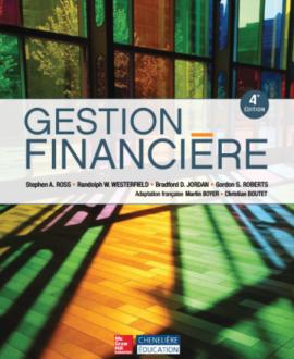 Gestion financière 4e édition